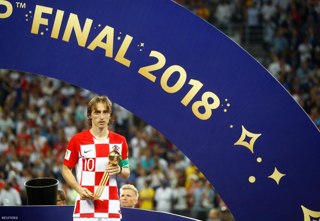 Luka Modric az aranylabdával