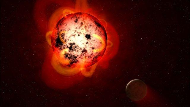 Kialakulhat-e értelmes élet egy vörös törpe körül keringő bolygón?