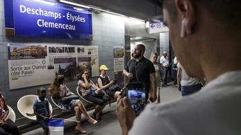 Hat párizsi metróállomást neveztek át a világbajnokok tiszteletére