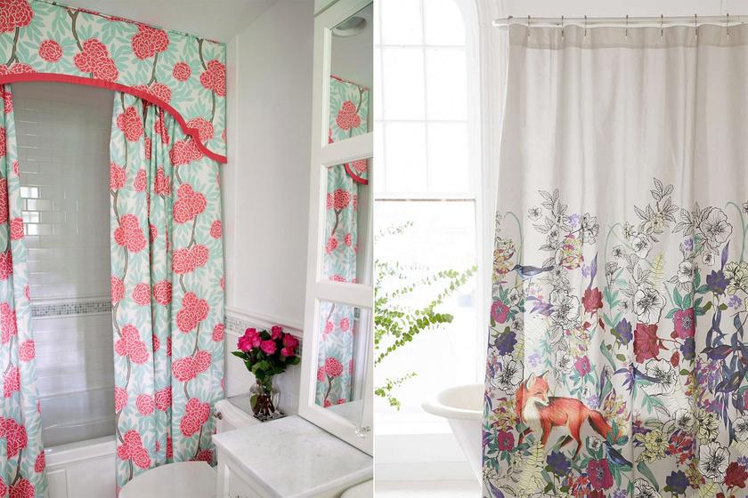 Ha ellenállhatatlan vágyat érzel a virágok és a természet iránt, akkor válassz hasonlóan vidám, mégis ízléses zuhanyfüggönyt!