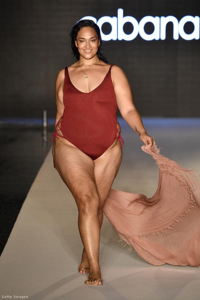 A Paraiso bemutatóján szintén volt ilyen modell, szóval a kerekebb nők jóval több helyen szerepeltek, mint a vékonyak.