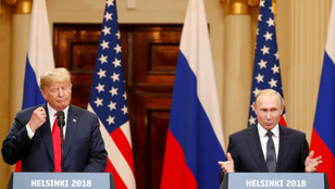 Putyin: Igen, akartam, hogy Trump győzzön