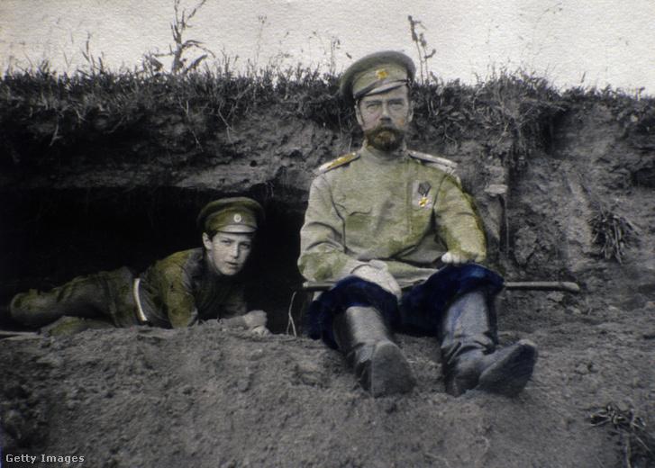 II. Miklós cár és Alekszej cárevics