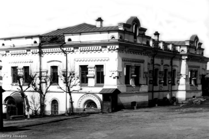 Az Ipatyev-ház Jekatyerinburgban
