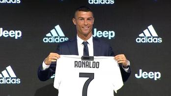 Cristiano Ronaldo: Nem volt nehéz döntés otthagyni a Real Madridot