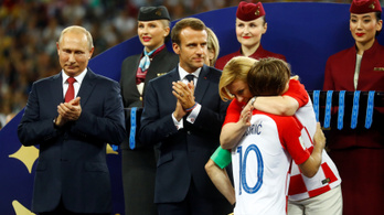 Kit érdekel Modrić, mikor itt van a köztársasági elnök is?
