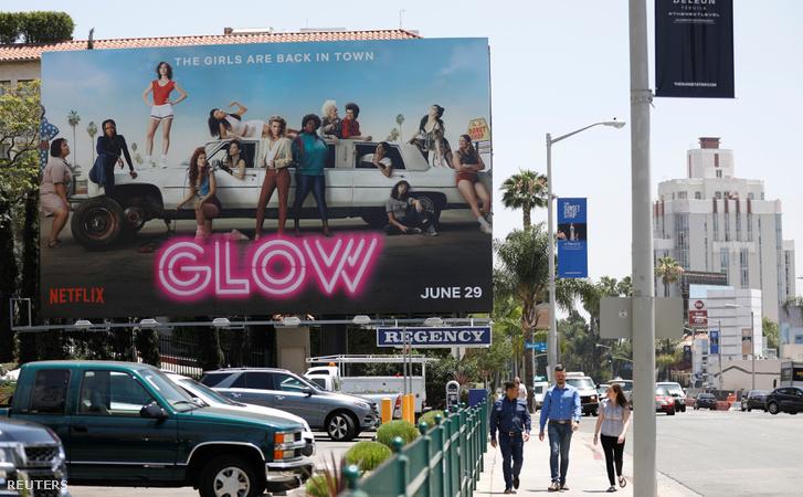 Netflix-plakát Los Angelesben
