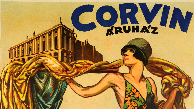 A két világháború között a leglegleg plázánk volt a Corvin