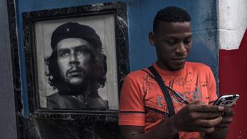 Csorgatni kezdik Kubában a mobilnetet