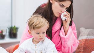 Ezt érzi anya, amikor beteg a gyerek
