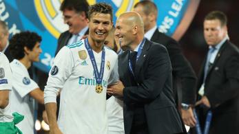 Zidane C. Ronaldót követve térhet vissza a Juventushoz