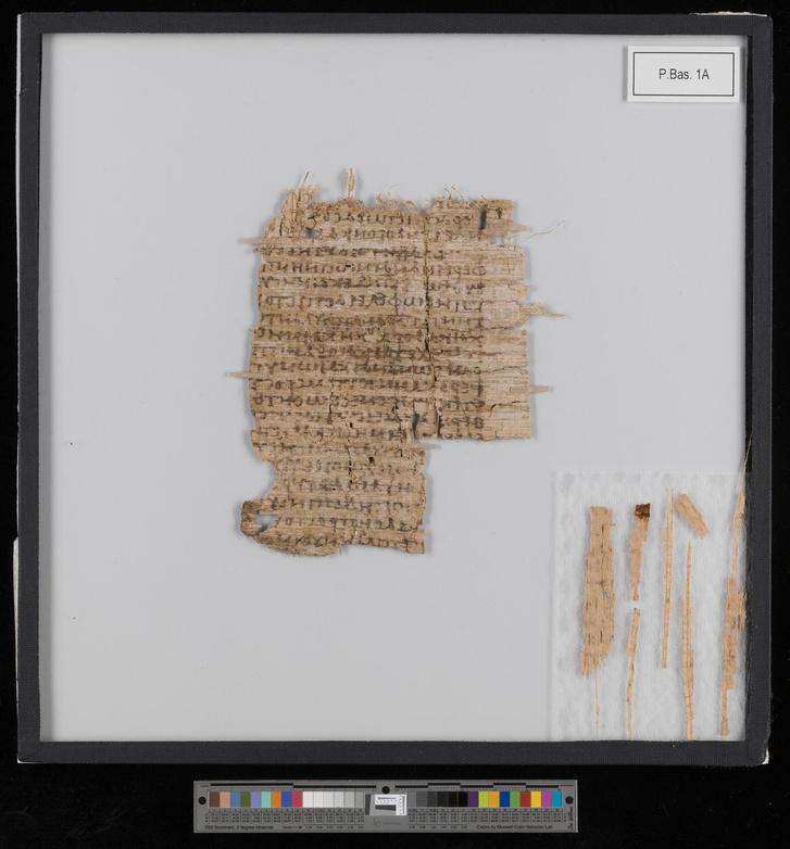 A Bázeli Egyetem kétezer éves papirusza