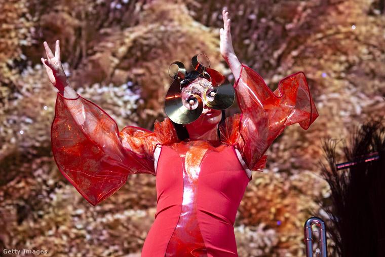 A dániai Northside fesztivál közönsége kapta az egyik legfélelmetesebb Björköt.