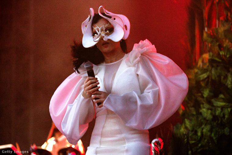 Na de honnan veszi Björk ezeket az organikus, mindig szimmetrikus formákat, amik egyszerre játékosak és félelmetesek? Hát, nem 100%-ig saját ötlet volt.