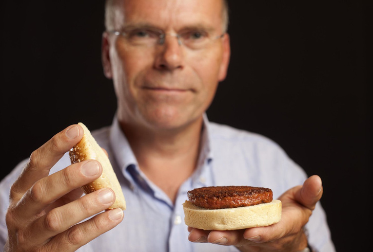 Mark Post a mesterséges marhahússal