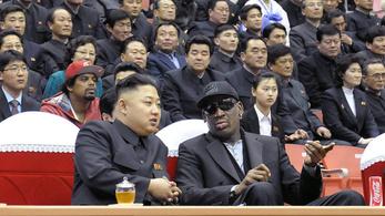 Dennis Rodman Észak-Koreában rappelne a világbékéről Kanye Westtel