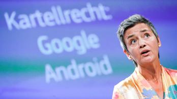 Újabb óriási büntetést kapott az EU-tól a Google