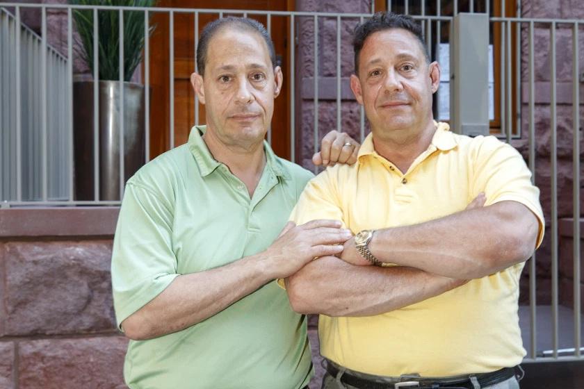 Robert és David, sok-sok év után.