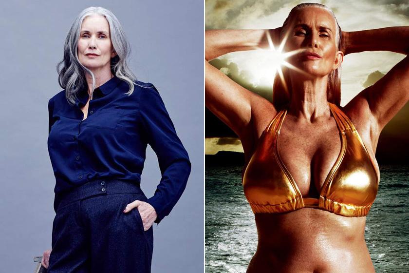Nicola Griffin hivatalos ügyeit intézte, amikor megszólították, és felajánlottak neki egy modellszerződést. Lányai biztatásárakezdettbele ötvenévesen az új karrierbe, azóta a Sports Illustrated címlapján is szerepelt.