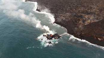Kérészéletű szigetet szült a hawaii vulkán