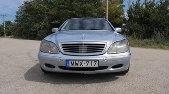 Gyűlölt Mercedes S-osztály 800 ezer forintért