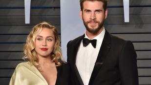 Bréking: végre TÉNYLEG összeházasodott Miley Cyrus és Liam Hemsworth