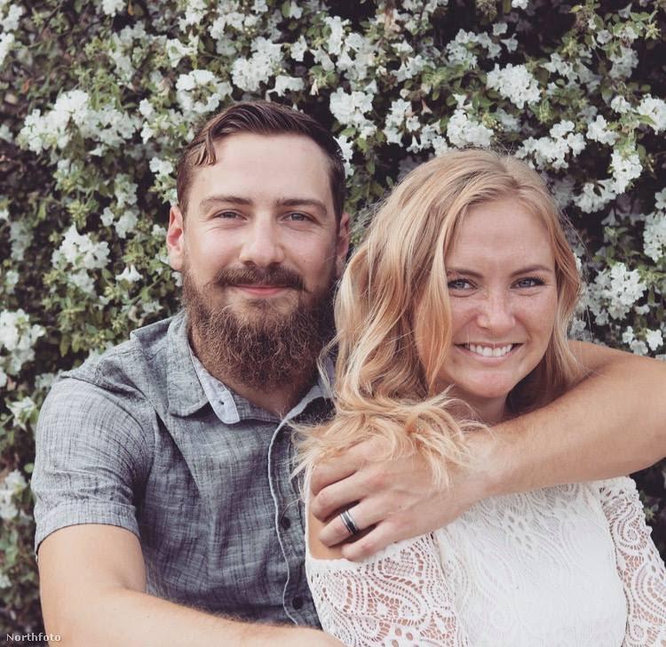 Ebben a lapozgatóban ennek a fiatal párnak az esküvői képei közül láthat néhányat