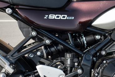 A hátsó futómű azonos az alap Z900-zal