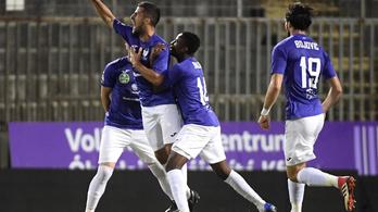 4-0-s kiütéssel továbbment az EL-ben az Újpest, a Sevillával folytatják