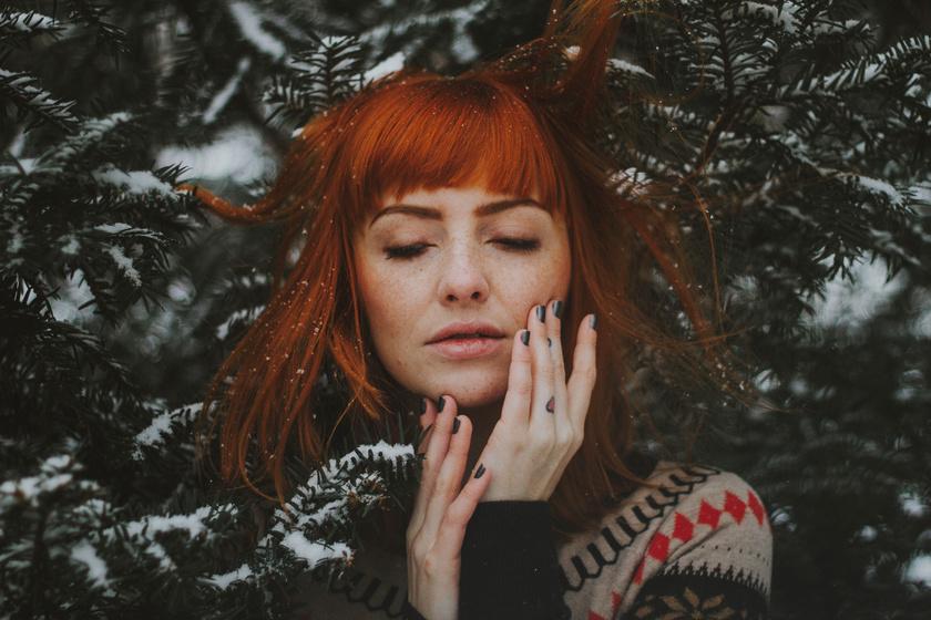 Égőpiros az arc: miért tapasztalják sokan a hidegben?