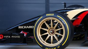 F1: jönnek a pimpelt felnik, megy a gumimelegítő párna