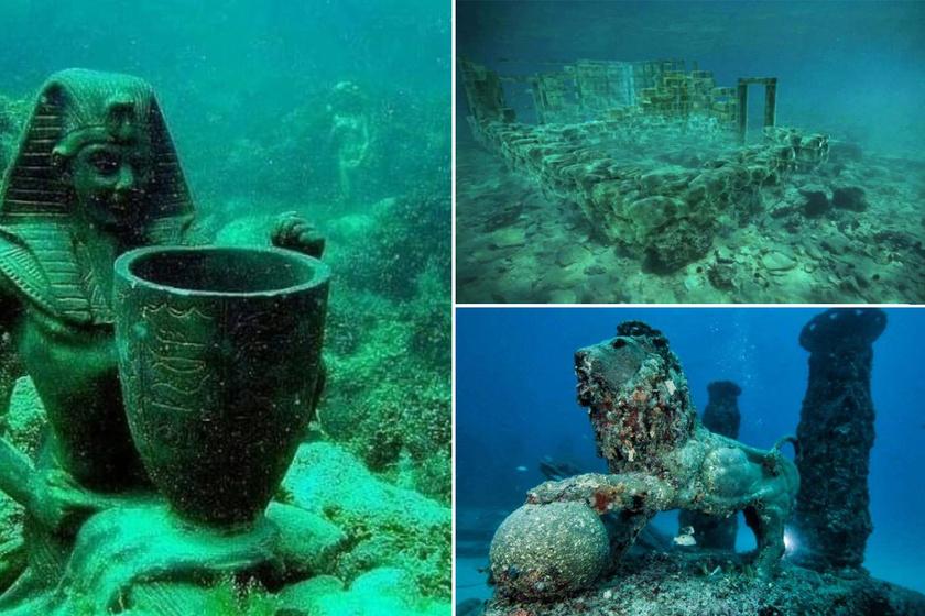 Több ezer éves, elsüllyedt városok, melyeket megőrzött a tenger - Gyönyörűek voltak egykor