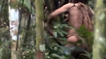Videó készült egy amazonasi törzs utolsó élő tagjáról