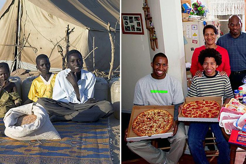 Így eszik a világ! Képek arról, hogy egyes népeknél mi minden kerül az asztalra