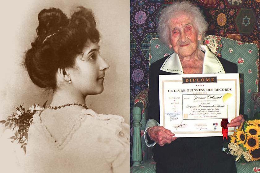 Mi lehetett a titka a világ valaha élt legidősebb emberének? Jeanne Calment 122 évig élt.