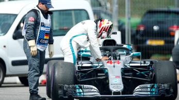 Hamilton-dráma a Német Nagydíjon, Vettel űridővel a pole-ban