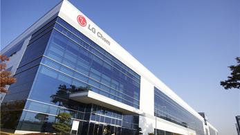 Újabb nagy akkumulátorgyárat épít Kínában az LG Chem