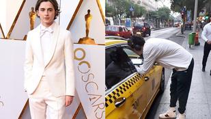 A 22 évesen Oscarra jelölt Timothée Chalamet itt van Budapesten