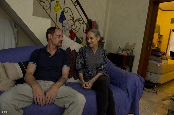 Michael Blanc és Helene Le Touzey (2014)
