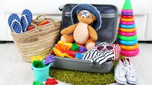 Mit pakolj be, ha gyerekkel mész nyaralni? Segítünk!