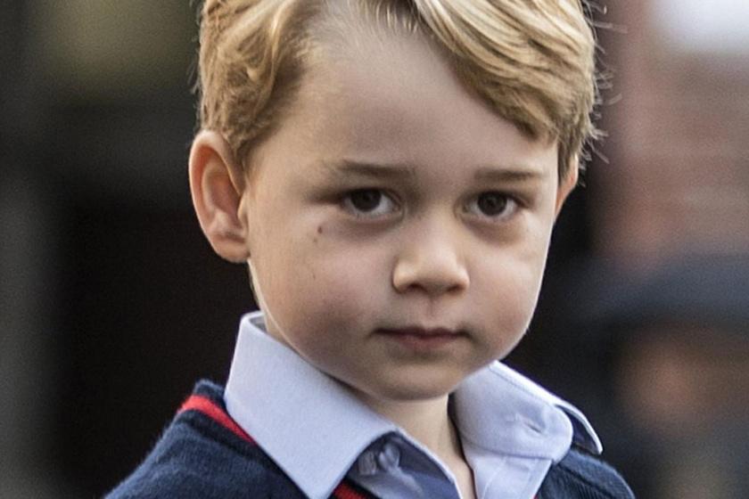 A szülinapos György hercegről tündéri fotót posztolt a palota