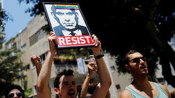 Kiakadtak a melegek, amiért Netanjahu átverte őket