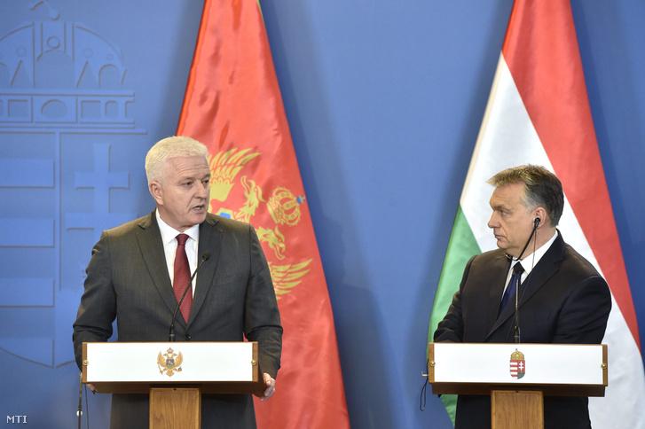 Orbán Viktor és Dusko Markovic 2017. február 24-én Budapesten