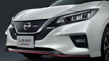 Sportosította villanyautóját a Nissan