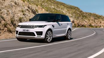 Megújul a Range Rover Sport