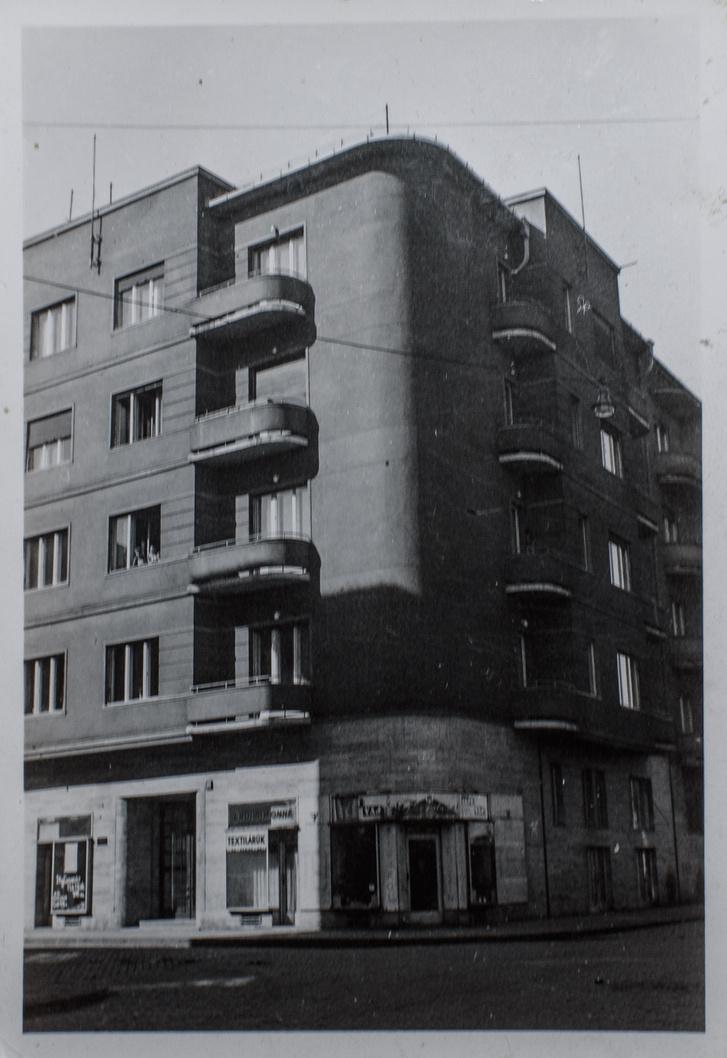Pannónia utca 58. Vera a harmadik emeleten lakott