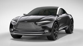 Jövőre gyártják az Aston Martin hobbiterepjáróját