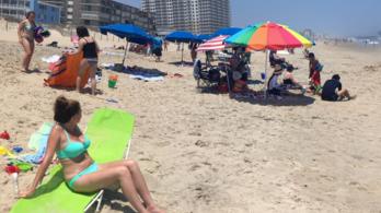 Napernyő nyársalt fel egy amerikai nőt