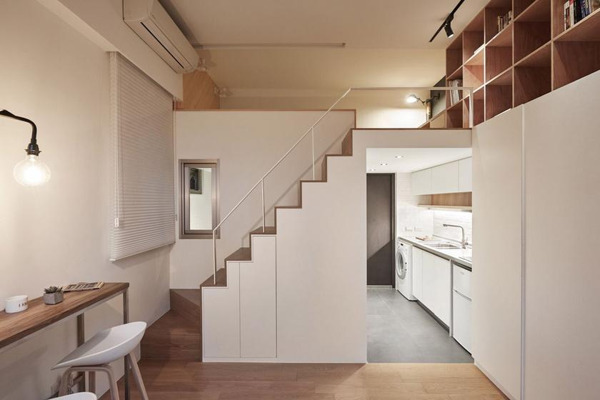 Tényleg csak 22 négyzetméter ez a lakás? Nem hittük volna a képek alapján