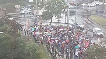 Kőbánya-Kispest és a Nagyvárad tér között is pótlóbusz járt a 3-as metró helyett